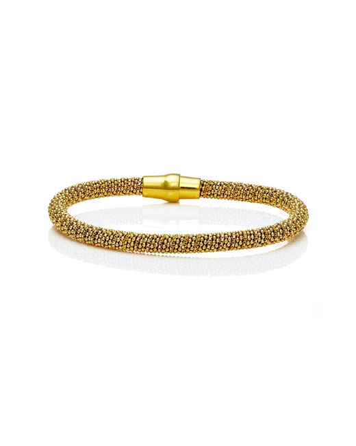 Durrah Jewelry - Metallic Gold Spring Bracelet - Lyst