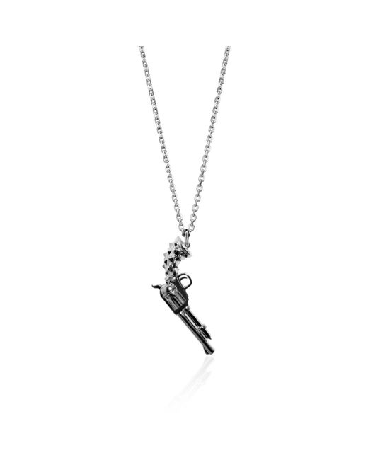 Kasun - Metallic Gun Pendant Silver - Lyst