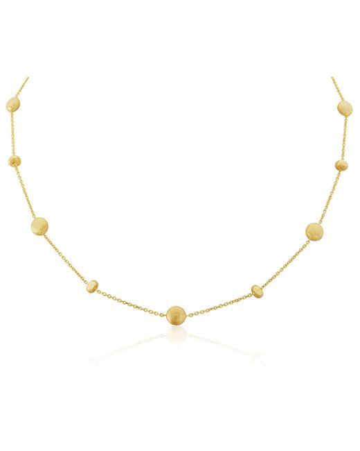 Auree Jewellery - Metallic Garda Yellow Gold Nugget Necklace - Lyst