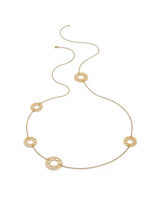 Myia Bonner | Metallic Gold Multi-brilliant Diamond Necklace | Lyst
