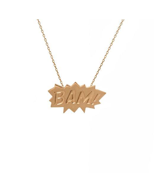 Edge Only   Metallic Bam Pendant Medium In Gold   Lyst
