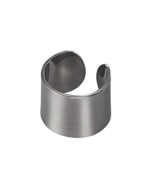 Dutch Basics - Gray Ear Cuff Oxidized Silver Thick - Lyst