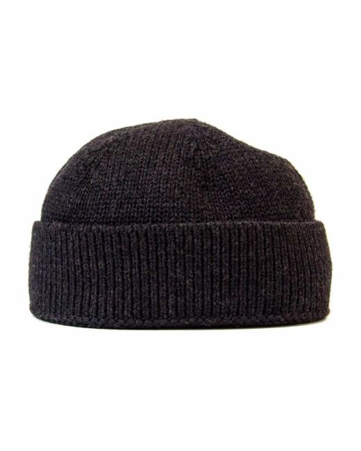 7012b636040 ... 40 Colori - Gray Charcoal Solid Wool Fisherman Beanie for Men - Lyst