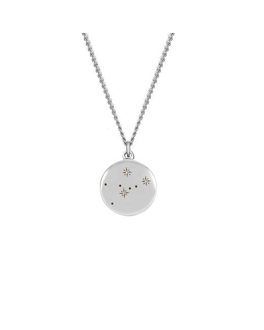 No 13 - Metallic Libra Zodiac Constellation Choker Diamonds & Gold - Lyst
