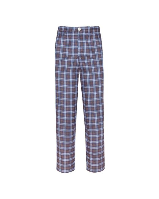 Law of Sleep | Theodore Pyjama Trousers Blue for Men | Lyst