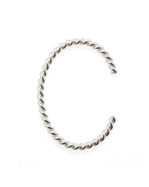 Isabel Lennse | Metallic Thick Twisted Cuff Bracelet | Lyst