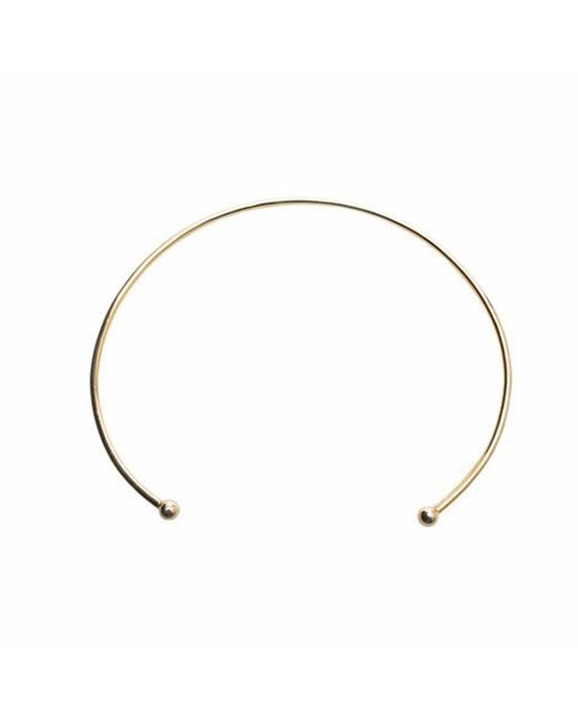 QIYADA | Metallic Choker Necklace | Lyst