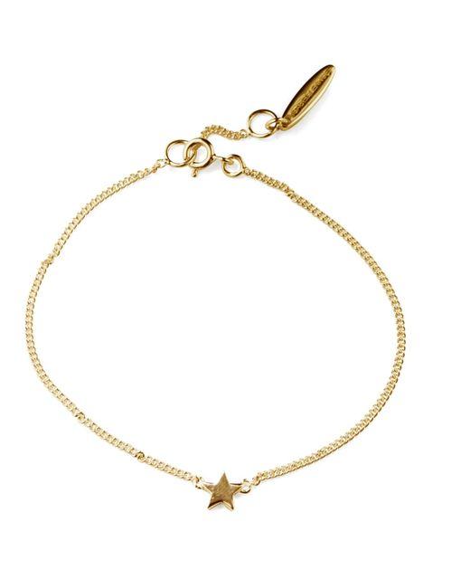 Isabel Lennse | Metallic Mini Star Gold Bracelet | Lyst
