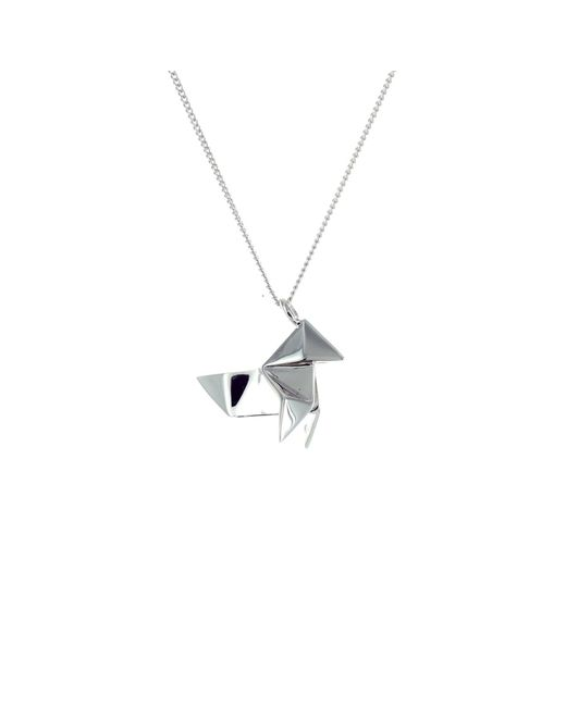 Origami Jewellery   Metallic Mini Cuckoo Sterling Silver   Lyst