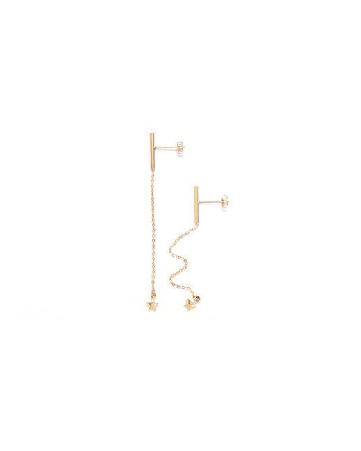 Amundsen Jewellery - Metallic Tiny Stars Earrings - Lyst