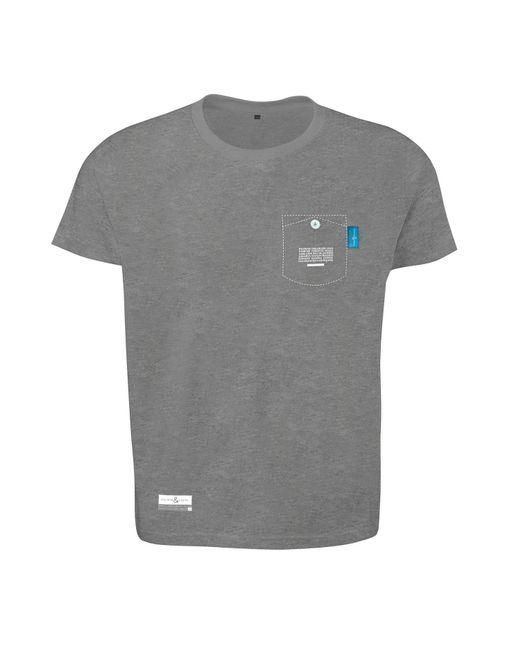 Anchor crew athletic grey digit print organic cotton t for Organic cotton t shirt printing