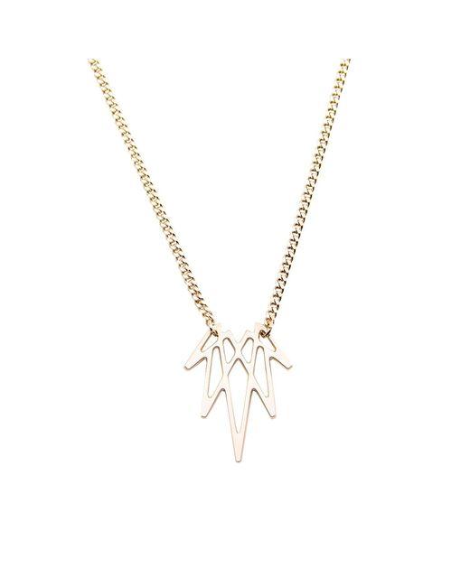 Mademoiselle Felee | Metallic Barcelona Luz Wing Necklace Xs Gold | Lyst