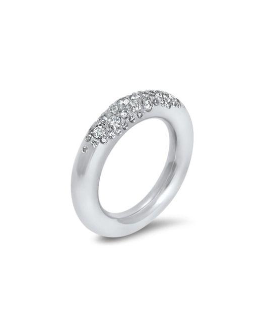 Hargreaves Stockholm | Metallic Commitment B White Gold & Diamond Eternity Ring | Lyst
