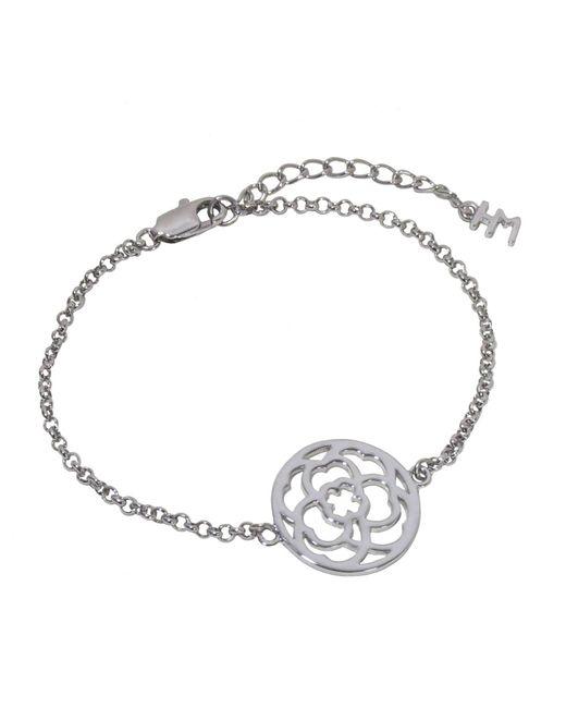 Hoochie Mama | Metallic Clover Medallion Bracelet | Lyst