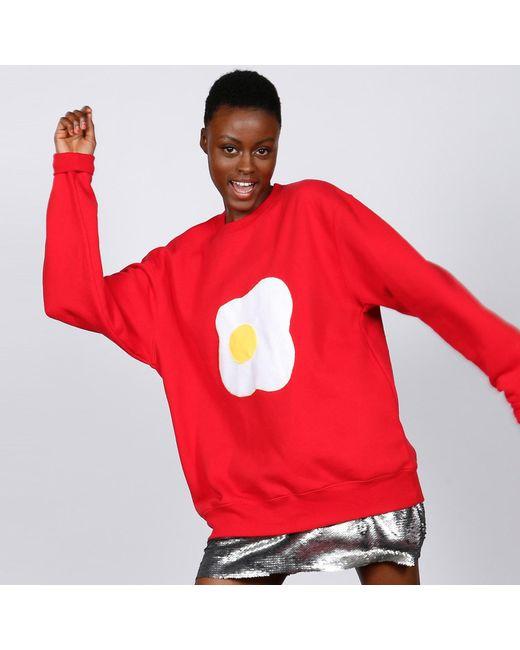 McIndoe Design Red Egg Sweatshirt