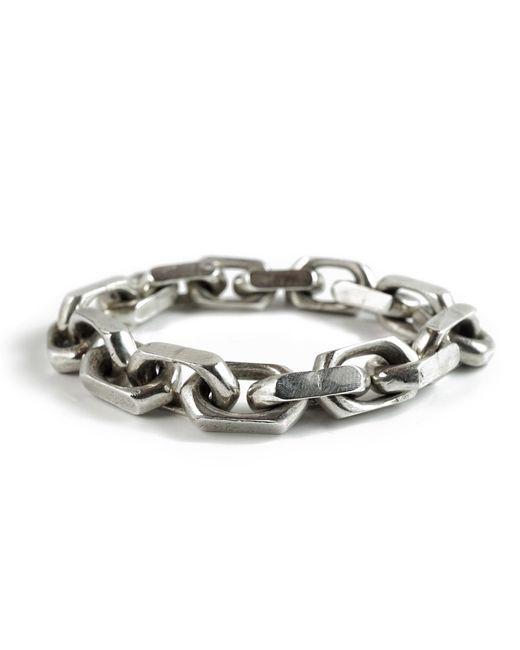 Frederick Grove   Metallic Heavy Link Bracelet   Lyst