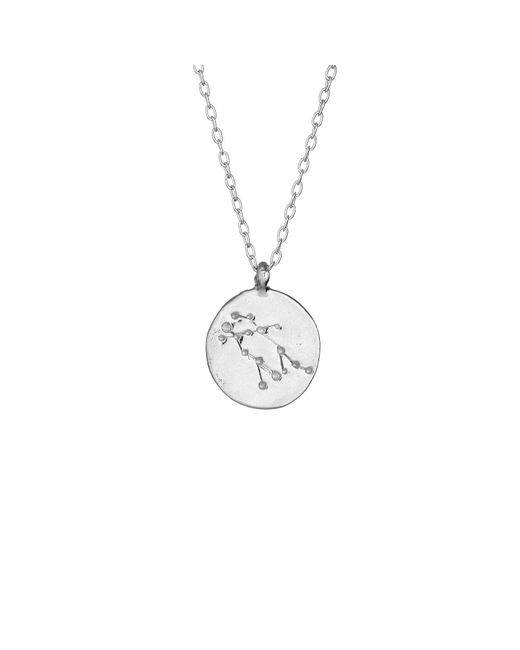 Chupi - Metallic Gemini We Are All Made Of Stars Star Sign Necklace In Silver - Lyst