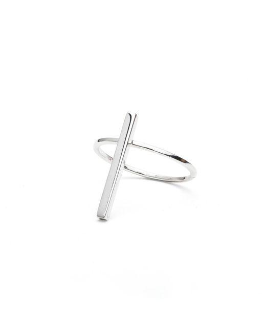 Isabel Lennse   Metallic Short Rod Ring   Lyst