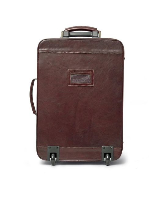 Leather Suitcase With Wheels | Luggage And Suitcases