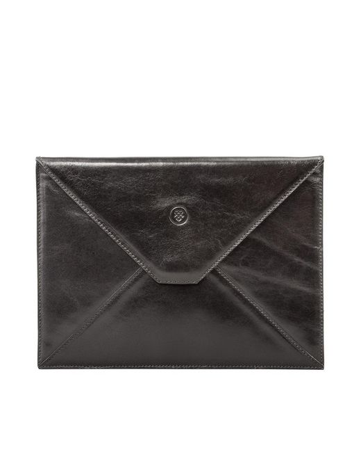 Maxwell Scott Bags | Luxury Black Leather Ipad Mini Case The Pico | Lyst