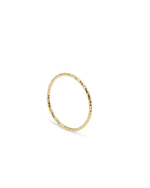 Myia Bonner - Metallic Gold Round Stacking Ring - Lyst