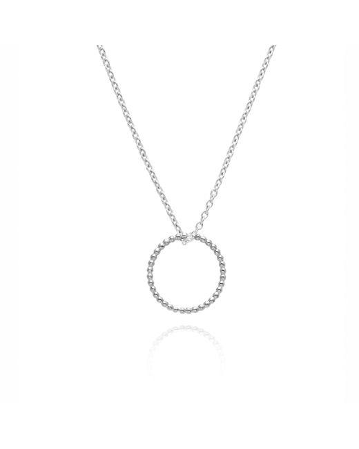Myia Bonner - Metallic Silver Circle Ball Necklace - Lyst