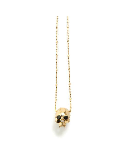 Kasun | Metallic Jawless Vampire Skull Pendant Gold | Lyst