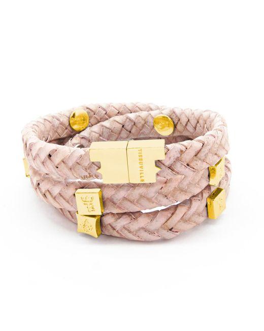 Tissuville - Multicolor Brio Bracelet Powder Pink Gold - Lyst