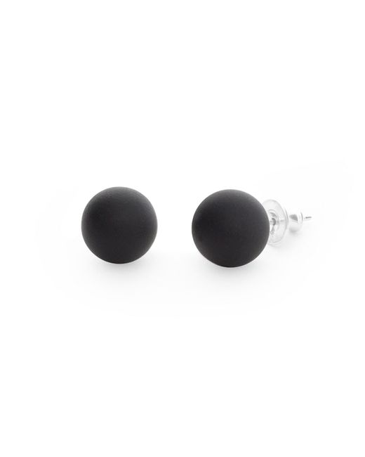 Hring Eftir Hring | Black Pirouette Coal Earrings | Lyst