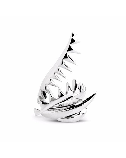 Kasun - Metallic Serpent Ring Silver - Lyst