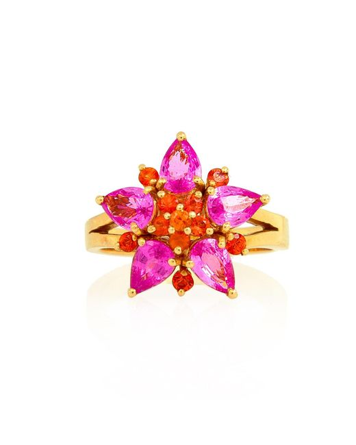 Alexandra Alberta - Multicolor Pixie Princess Ring - Lyst