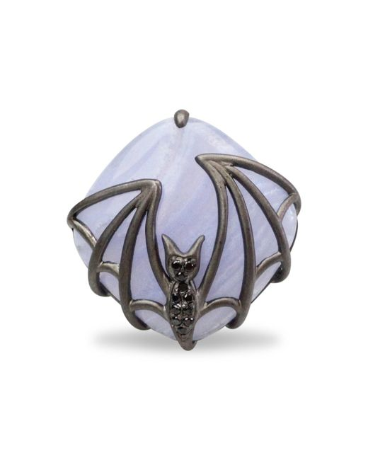 Bellus Domina | Metallic Bat Ring | Lyst
