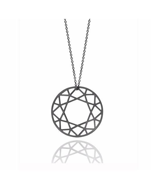 Myia Bonner - Large Black Brilliant Diamond Necklace - Lyst