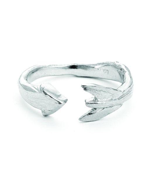 Chupi - Metallic Follow Your Dreams Arrow Ring In Silver - Lyst