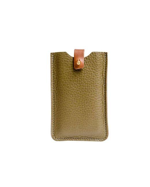N'damus London - Green Iphone Sleeve Olive - Lyst