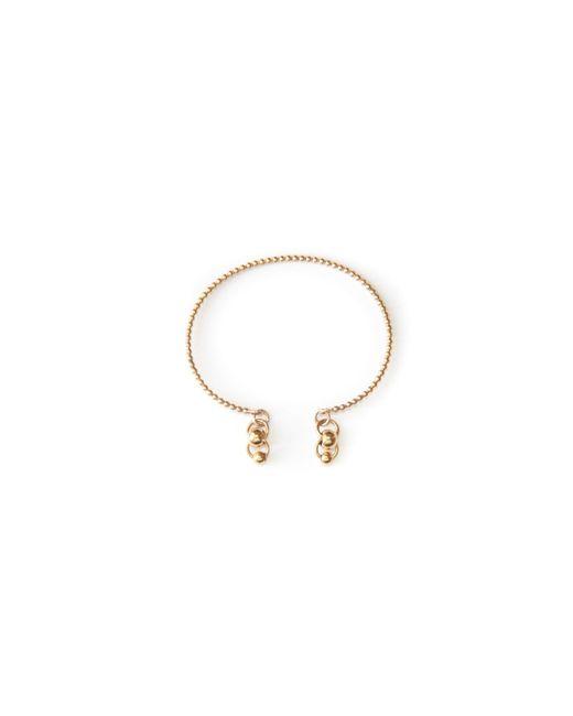 Amundsen Jewellery | Metallic Twisted Bangle | Lyst