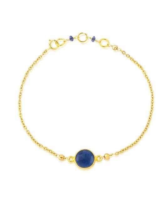 Auree Jewellery - Metallic Goa Lapis Lazuli & Gold Bracelet - Lyst