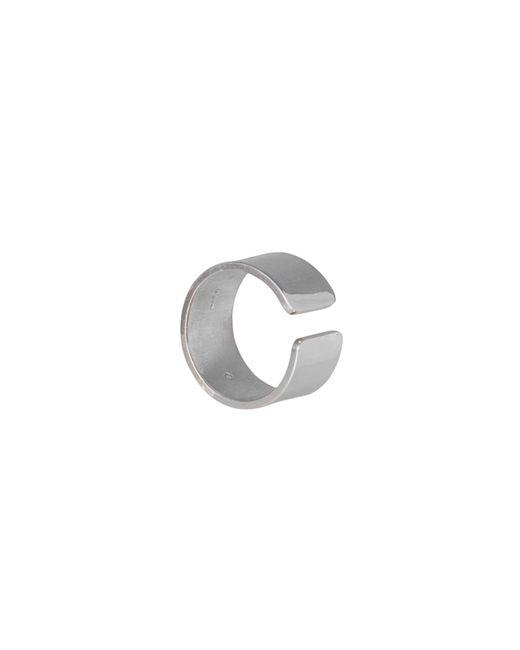 Edge Only - Metallic Gap Ring Ladies Silver - Lyst