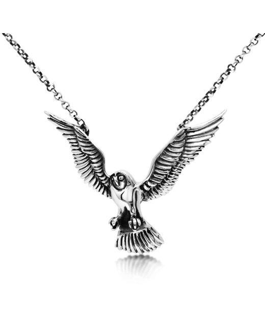 Hjälte Jewellery Metallic Owl Necklace