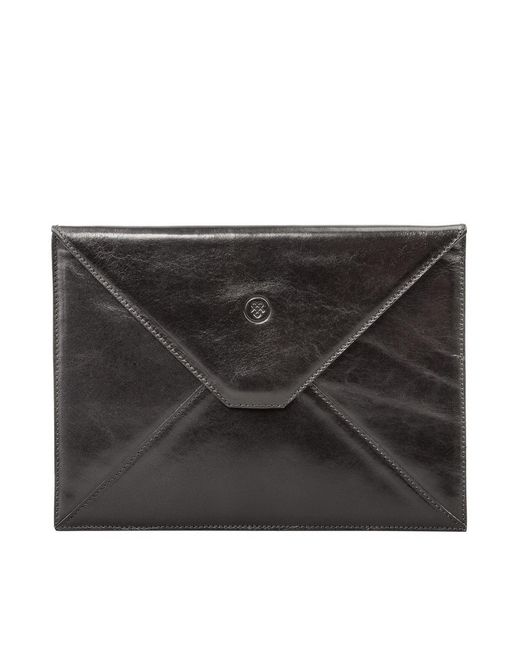 Maxwell Scott Bags | Luxury Black Leather Ipad Mini Case The Pico | Lyst