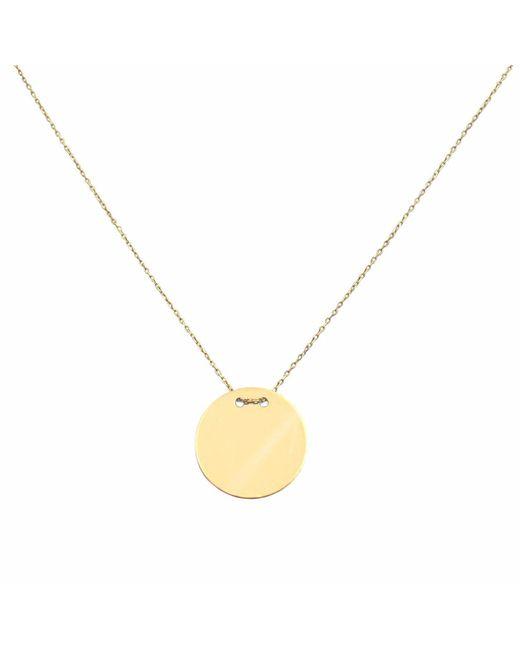 Talia Naomi | Metallic Golden Eclipse Necklace Gold | Lyst