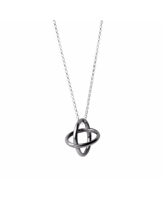 Nakibirango - London   Metallic Orb Silver Necklace   Lyst