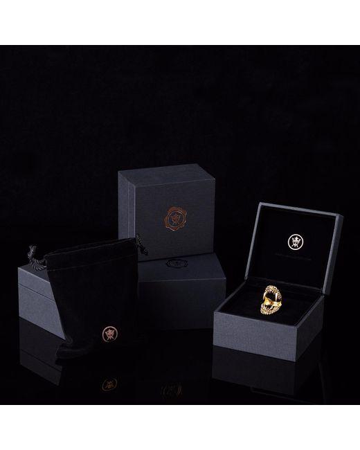 Kasun Metallic Vampire Claw Ring Silver
