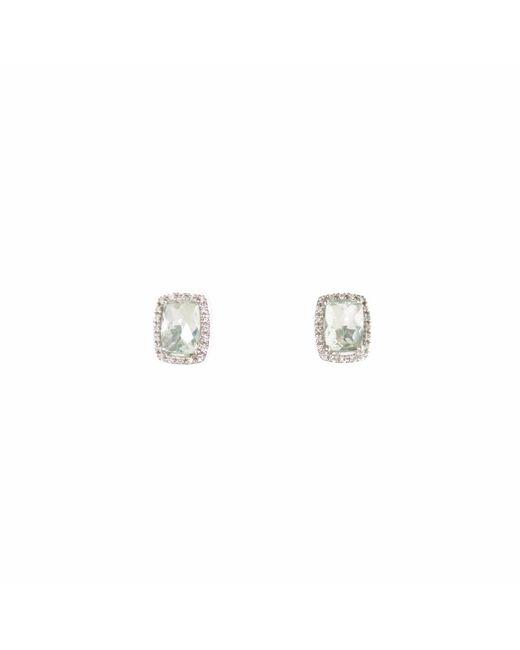 Ri Noor - Metallic Green Amethyst Earrings - Lyst