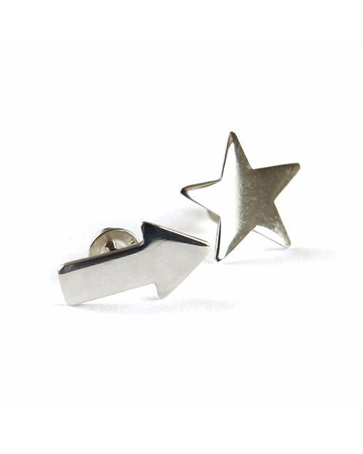 Brash Bijoux | Metallic Star & Arrow Studs | Lyst