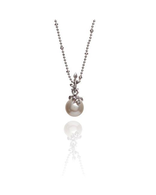 Kasun - Metallic Ivory Pearl Pendant - Lyst