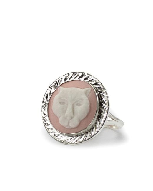 Vintouch Italy | Multicolor Panther Cameo Ring | Lyst