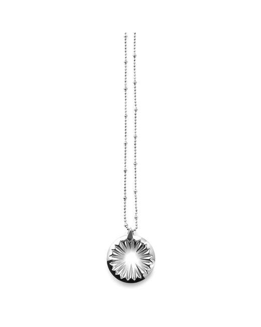 Kasun - Metallic Midnight Sun Pendant Silver - Lyst
