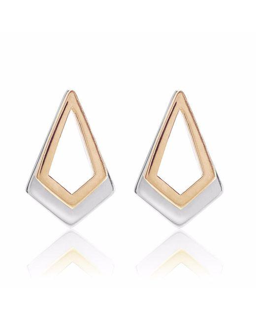 Neola Cube Sterling Silver Earrings Xqbbe8