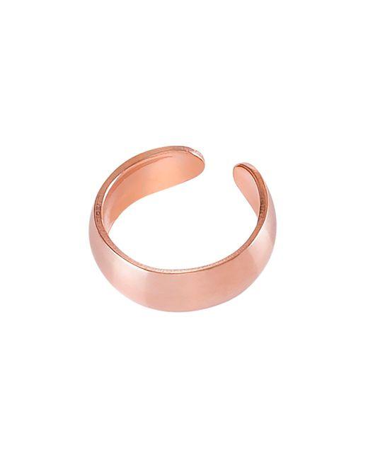 Dutch Basics - Metallic Small Ear Cuff Rose Gold - Lyst